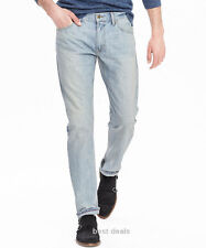 BANANA REPUBLIC MENS Vintage Straight LIGHT WASH JEAN NEW FREE FAST SHIPPING