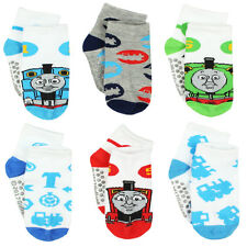 Thomas and Friends Boys 6 pack Gripper Socks (Toddler) TE022EQS