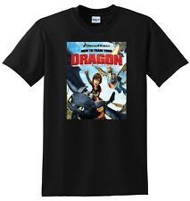 HOW TO TRAIN YOUR DRAGON T SHIRT 2010 movie SMALL MEDIUM LARGE or XL adult sizes