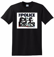 THE POLICE T SHIRT greatest hits SMALL MEDIUM LARGE or XL adult sizes