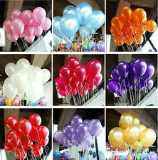 Hi-Q Birthday Party Wedding Balloon Colorful Pearl Latex Celebration 100pcs New
