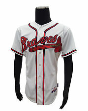 Majestic Mens Replica Home Jersey Atlanta Braves Craig Kimbrel #46