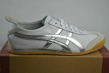 Asics onitsuka Tiger Mexico 66 white Metall silver Leather Sneakers shoes shoes