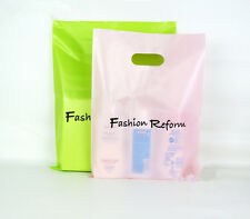 45 Plastic Gift Shopping Carrier Bags Merchandise Bags carton for T-shirt bags