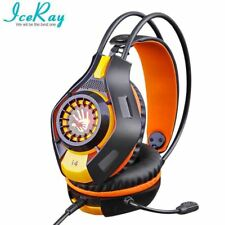 IceRay Stereo Bass Computer Gaming Headphone Headset  Earphone With Microphone F