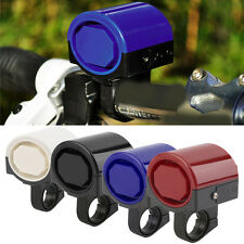 MTB Road Bicycle Bike Electronic Bell Loud Horn Cycling Hooter Siren Holder DS