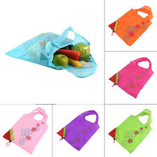 1 pc Strawberry Foldable Shopping Bag Tote Reusable Eco Friendly Grocery Bag DS