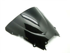 Smoke Black Double Bubble Windscreen Windshield for 1998-2002 Yamaha YZF R6