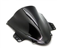 Smoke Black Double Bubble Windscreen Windshield for 2005-2006 Suzuki GSXR1000