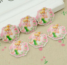 Lot Tinker Bell Cartoon DIY resin cabochons accessories flat back resin Z665