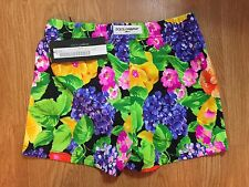 NWT Dolce & Gabbana Mens Swim Shorts Floral Multi Color