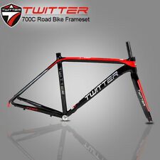 Cycling 700C Road Bike Aluminum Alloy Frame And Carbon Fiber Fork 46/48/50/52cm