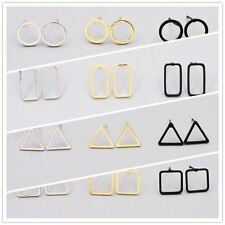 New Fashion Geometric Pattern Gold Plated Earrings For Women And Girls