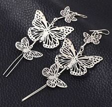 New Fashion Gold And Silver Plated Zinc Alloy Earrings For Women
