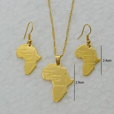 New Fashion Pendant Earring Gold Color Jewelry set For Women