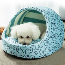 Pet Dog Cat Bed Soft Warm House Puppy Cave Nest Sleeping Cushion Mat Pad Kennel