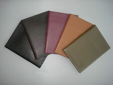 Premium LEATHER Napa Passport Holder Travel Wallet Cover Card Slot Handcrafted
