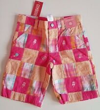 NWT GYMBOREE RETAIL POPSICLE PARTY Bermuda SHORTS PATCHWORK PINK 6,8 Ice Cream