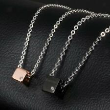"""""""Forever"""" Stainless Steel Couples Pendant Necklace Lover's Valentine's Jewelry"""