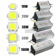 10W/20W/30W/50W/100W High Power Waterproof LED SMD Chip Bulb+LED Driver Supply S