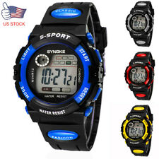 Kids Child Boy girl Watch NEW GIFT Band Led Digital Sport Quartz Wrist Watch
