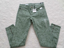 GAP 1969 ANKLE-ZIP LEGGING SKIMMER JEANS WOMEN SIZE 27 SUPERS STRETCH NEW NWT