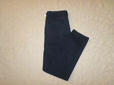 GAP CHINO LIVED-IN TAPER PANTS MENS DARK BLUE SIZE 30X32 ZIP FLY NEW WITH TAGS