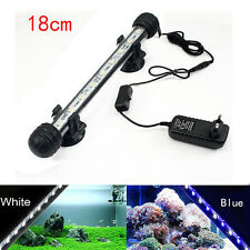Waterproof Submersible Aquarium 18-38cm LED Light Fish Tank Bar Strip Light Lamp