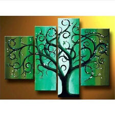 WALL ART OIL PAINTING HAND-PAINTED MODERN ABSTRACT HUGE ON CANVAS WITH FRAMED
