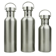 All Stainless Steel Water Bottle for Travel Outdoor Camping Hiking Cycling Yoga