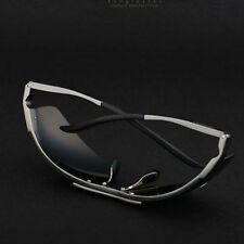 Polarized Driving Sunglasses HD Men AluminumSports Mirrored Sunglasses Eyewear