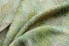 SSJ*00232 Green Patch*Vintage Japanese kimono silk fabric*,quilt,panel,patchwork