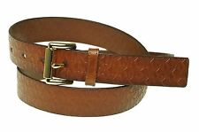 Michael Kors Women's Leather Embossed MK Monogram Roller Buckle Belt $48