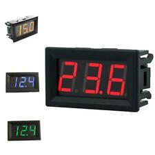 0.36'' DC2.5-30V LED 3-Digit Display Voltmeter Volt Meter Panel Car 4 Colors