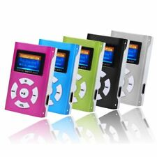 Portable High-Quality sound USB Mini MP3 Player LCD Screen Support 32GB Micro SD