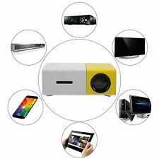 YG300 Professional Mini Projector Full HD1080P Home Theater LED Projector LCD SR