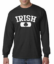 New Way 135 - Long-Sleeve T-Shirt Irish Clover St Patricks Day Ireland