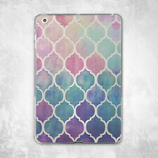 Head Designs Colorful Geometry Hard Back Case Cover For iPad Pro Air Mini 2 3 4