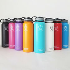 New 40oz Hydro Flask Insulated Stainless Steel Water Bottle Wide Mouth