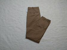 GAP KHAKIS CHINO PANTS MENS SKINNY SIZE 30X30 CREAM CARAMEL ZIP FLY NEW NWT