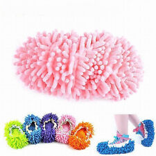 2pc Lazy Cleaner Dusting Cleaning Foot Shoe Mop Slipper Floor Polishing Cover