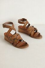 New Anthropologie $138 Schuler & Sons Durmitor Micro Wedges Sandals, 6.5, 9.5 US