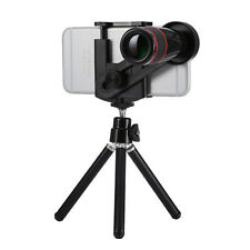 Universal 12X Optical Telescope Camera Lens with Tripod for iPhone Samsung