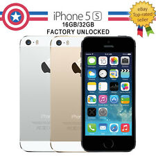 NEW! Apple iPhone 5S 16GB 32GB Unlocked Smartphone Sim Free Factory phone A1533