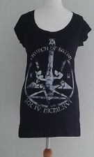DARKSIDE ANTICHRIST FITTED DRESS TOP SMALL MEDIUM LARGE 10 12 14, GOTH ROCK PUNK