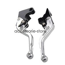 Silver Brake Clutch Levers for Suzuki BANDIT GSF1200 GSF250 GSF600 GSF650 GS500