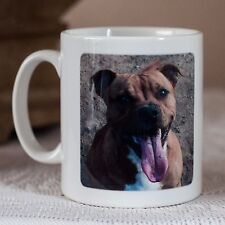 Staffordshire Bull Terrier Staffie Dog Breed Mug, Keyring, Coaster  Tea, Coffee