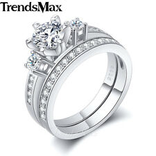 9mm Womens Girls 925 Sterling Silver Wedding Engagement US Sz 6-9 Band Ring