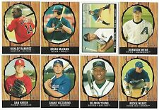 2003 Bowman Heritage Complete Team Set 18 Available KN RC Rookie Cards DI 03