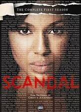 Scandal: The Complete First Season (DVD, 2012, 2-Disc Set) NEW
